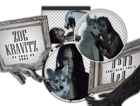 Png Pack 592 //  Zoe Kravitz by confidentpngs