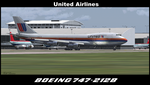 United Airlines Boeing 747-212 by TrellBrown23