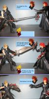Axel vs Cloud by crazyhime