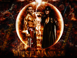 Shawn Michaels Vs Undertaker - WrestleMania 26 by thetrans4med