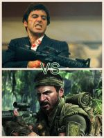 Tony Montana Vs Frank Woods by FrankWick