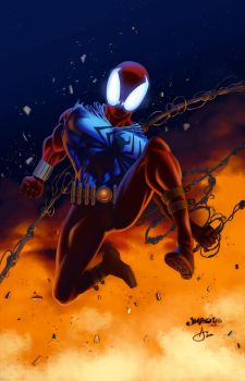 Scarlet Spider by tony808