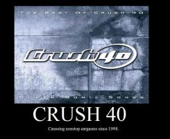 Crush 40 motivator by SonicGuy15