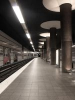 STOCK Metro station by Inilein