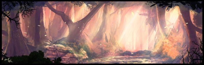 Fantasy Forest 2 by mohq