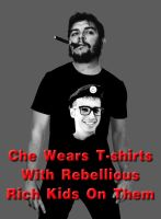 Che Wears Chic by Elvis-Chupacabra