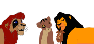 Lion family adopt-five points by werewolftg