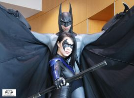 LBCC - Batman and Nightwing by Cosplay-Nation