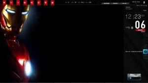 Iron Man Rainmeter by doolally66