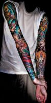 my sleeve by RichardMarrIV