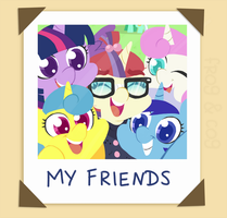 My Friends by FrogAndCog