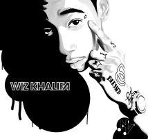Wiz Khalifa by nickvasko