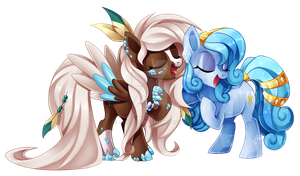 Singing Together by Centchi