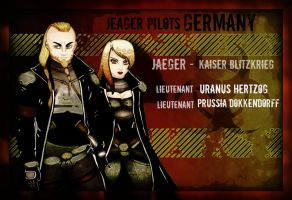 Jeager Pilots - Germany by gorgonbreath