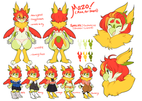 Mazo Ref Sheet by MagicalZombie