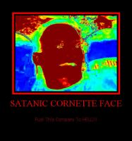 Satanic Cornette Face 2 by MexPirateRed