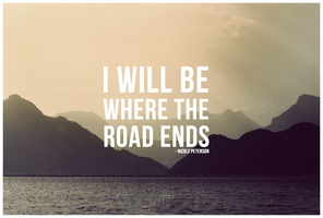 Where the road ends by MonsterBrand