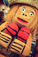 Another Cocoa-nut monkey by SnapColorCreations