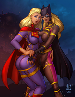 Stephanie Brown and Supergirl 3_COLOR by vest