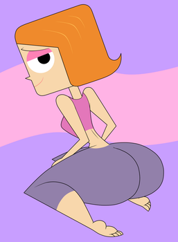 Debbie Turnbull from 'Robotboy' by DanOblong