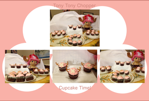 Cupcake time-Tony Tony Chopper by Snuckledrops
