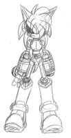 Roboticized Base Front View by Basic-Hedgehog