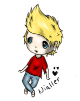 Niall horan ultra chibi c: by RippedMoon