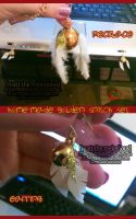Homemade Golden Snitch Jewlery by MattTheMelodious
