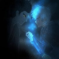 Pitch Dark and Jack Frost by AngelofHapiness