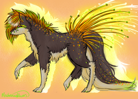 Another Quill-Dog SOLD! by MischievousRaven