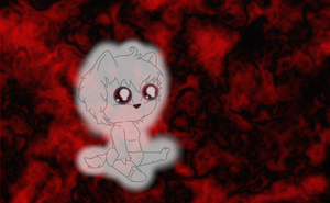 Ghost Pup by coyowolf