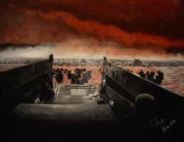 Normandy June 6th 1944, D-Day by OceansAquatique