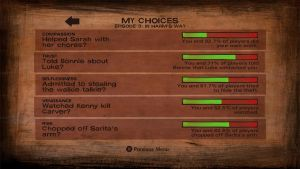 My Choices  In the walking Dead season 2 episode 3 by awesomedragon