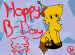 happy b day by dovepaw3000