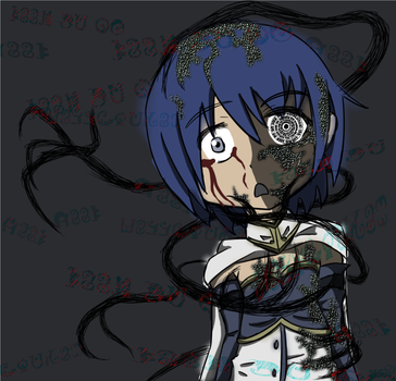 Corrupted Sayaka by grunt211
