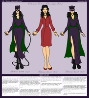 Catwoman Bronze Age Costumes Part 1 by Femmes-Fatales