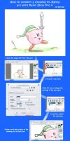 Drawing to Digital Tutorial by Hoshi-no-Kaabii
