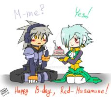 Happy B-day, Red-Masamune! by Lady2011