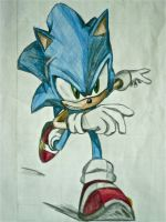 Sonic 06-Color pencil version by DarkS8728