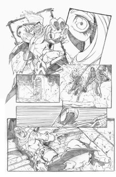 Spiderman page example 3 by dtoro