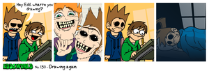 EWCOMIC No.130 - Drawing Again by eddsworld