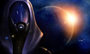 Tali'Zorah Vas Normandy by AJ-Terror