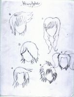 Some more hairstyles by PlottingYourDemise