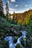 Triberg Waterfall HDR 04 by Creative--Dragon
