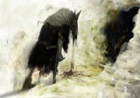 Black witch by DartGarry