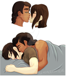 Kisses and Cuddles by Claire-Cooper