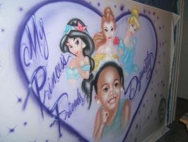 Little princess B-Day backdrop by KidStyles