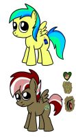 Rainbow Factory - Aurora and Orion by petirep
