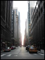 The Streets...of New York by K-ayu