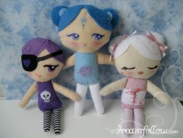 lolly dollies by merwing